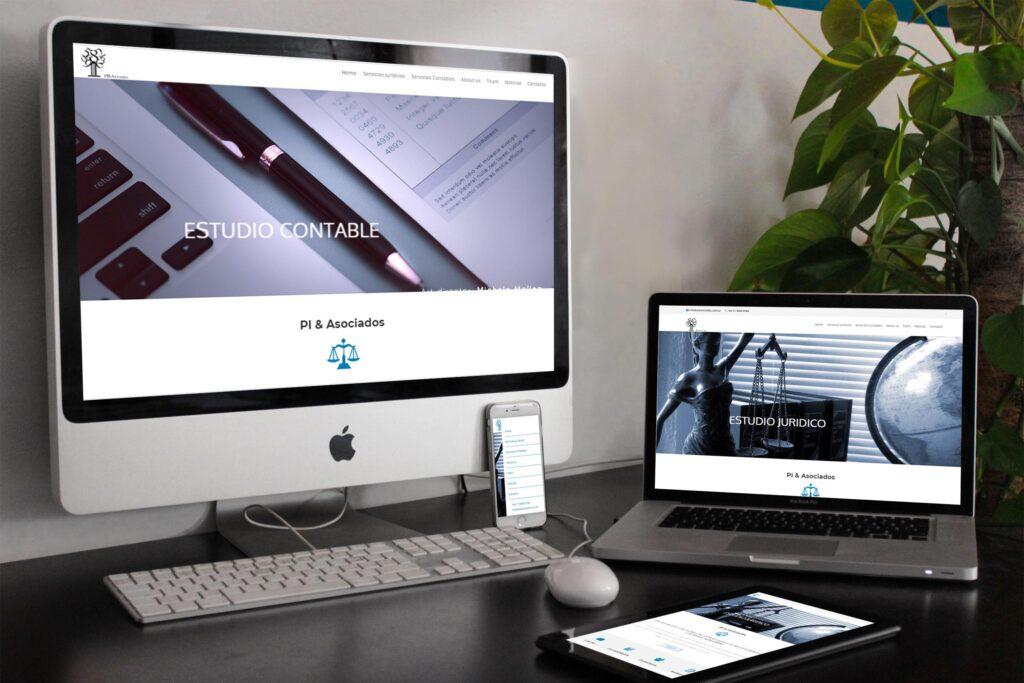 Piasociados - Sitio web