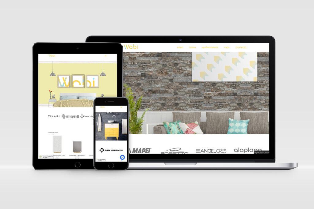 Wabi Deco - Sitio web
